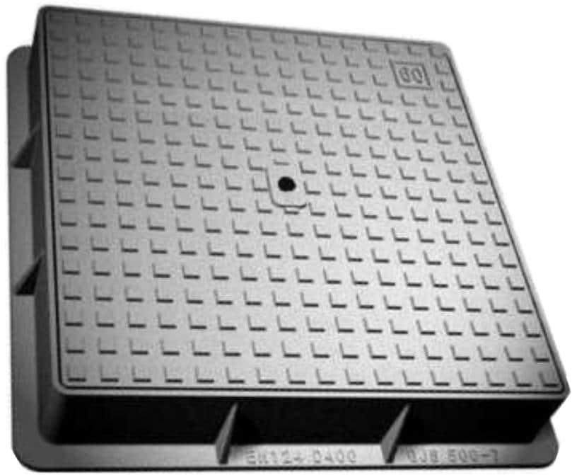 دریچه منهول مربعی | دریچه منهول 55 * 55 UPVC